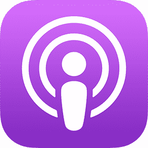 Apple Podcast app logo