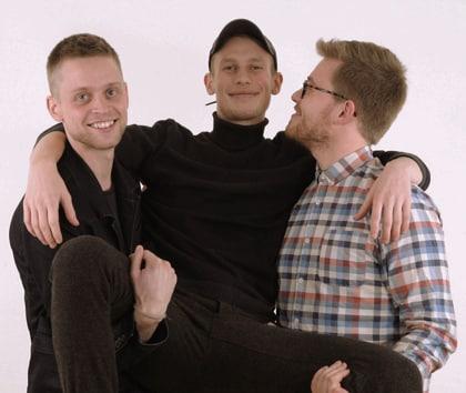 Kristian Emil Larsen, Søren Grum & Rasmus Skovdal