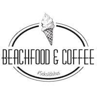 Beachfood and coffee logo