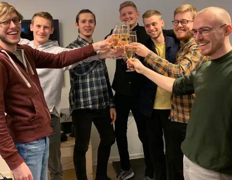 Innofounder fejring i team relion