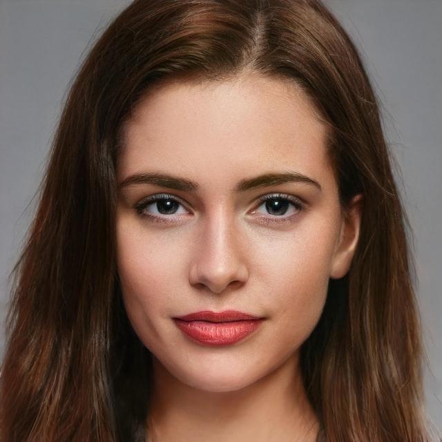 Portræt af ung pige