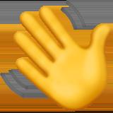 Vinkende hånd emoji